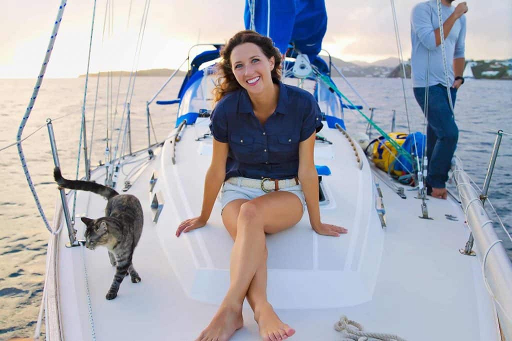 Matt and Jessica love sailing so much, they can't imagine living in a house