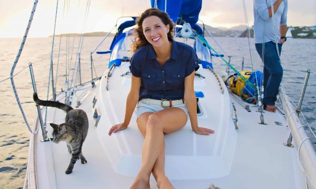 One couple addicted to sailboat living, can't imagine house