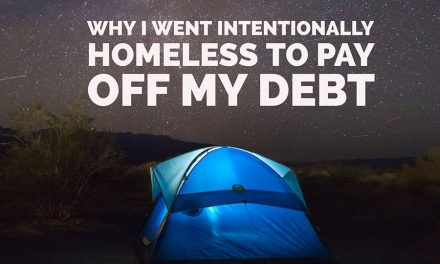 I lived in a car and a tent to pay off my debt in San Francisco