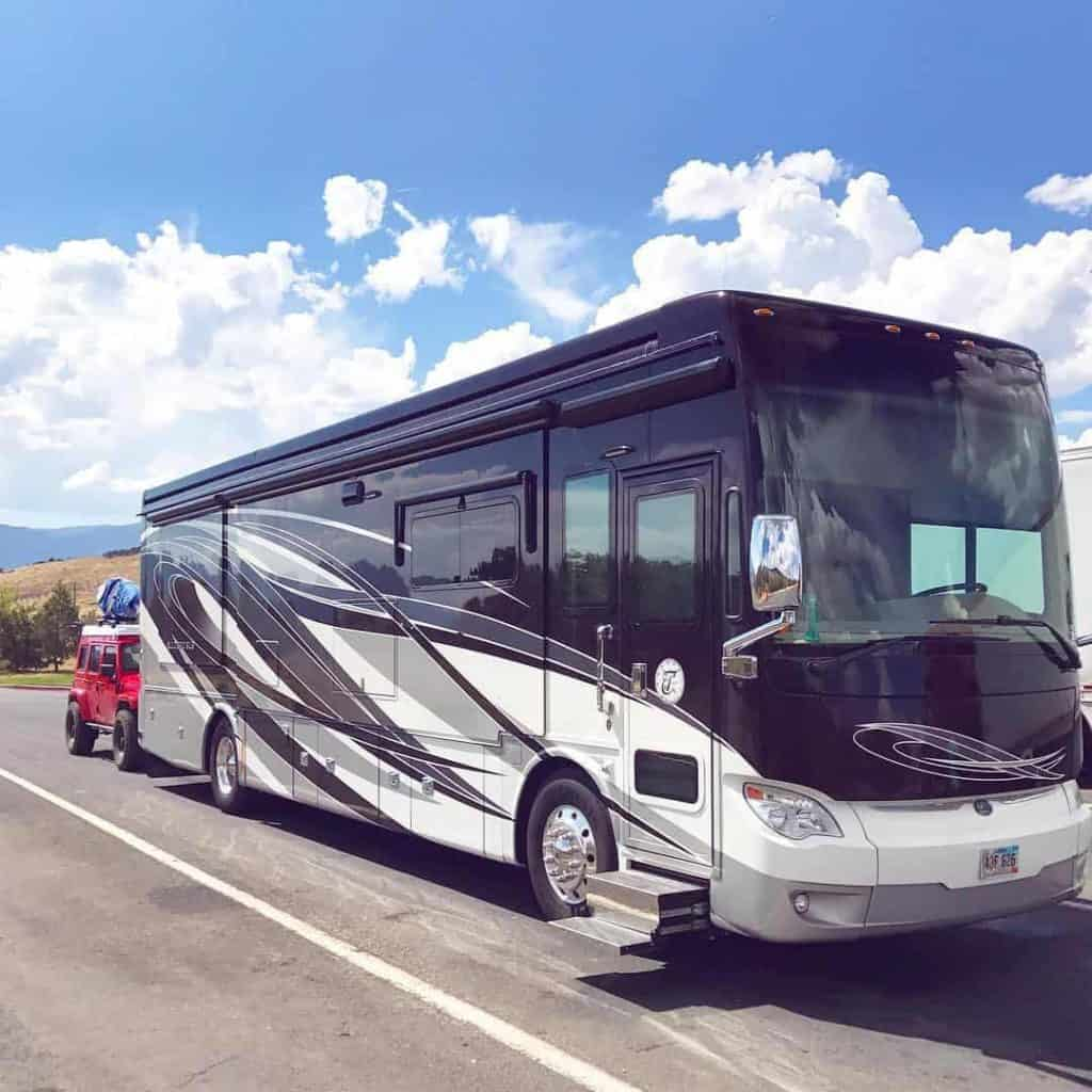 Michelle Shroeder-Gardner and her husband traveled in a Class A motorhome for years after selling their house