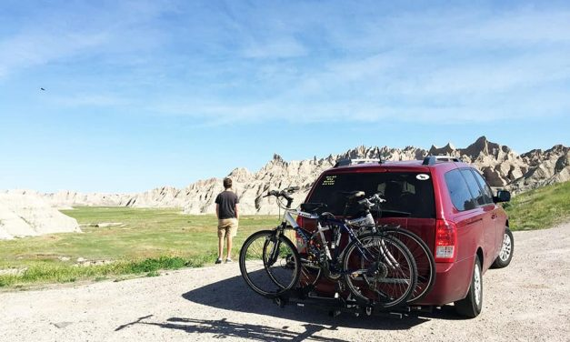 Couple quits jobs, does $200 minivan camper conversion to travel the US