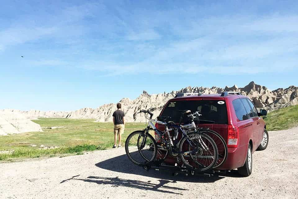 San Francisco couple buys used van, converts it for $200 to travel the U.S.