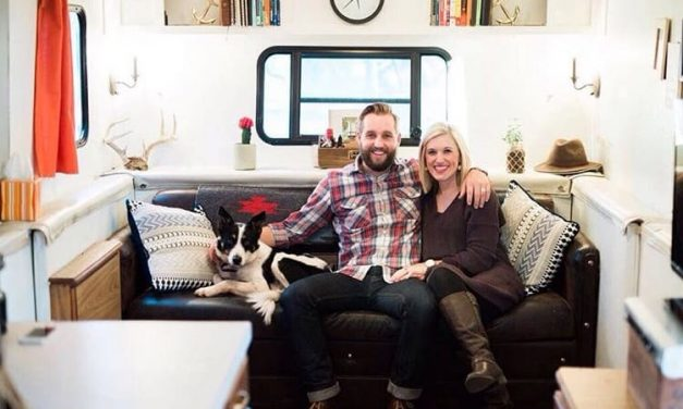 Young couple lives in RV to pay off $50,000 of debt in under a year