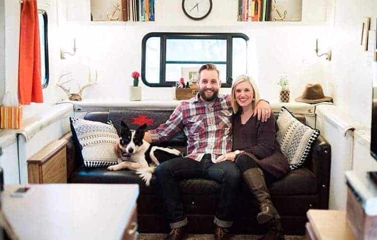 Couple lives in a cheap RV to pay off $50,000 of debt in under a year
