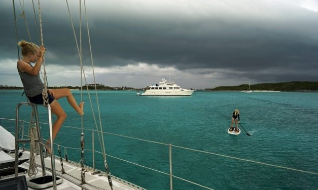 Sailing couple going on 11 years cruising full-time with kids