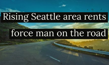 Man gives up home near Seattle to become on-the-road minimalist