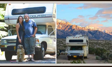 Couple ditches apartment, jobs for cheap RV living