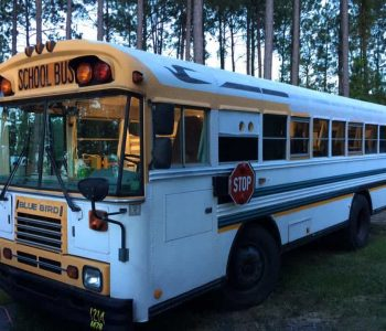 What it's like living in a school bus conversion