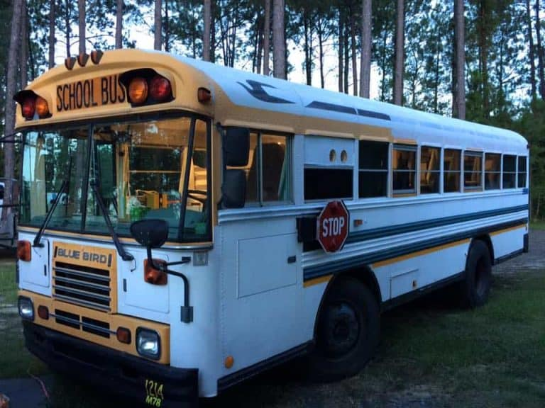 What it's like living in a schoolbus full-time