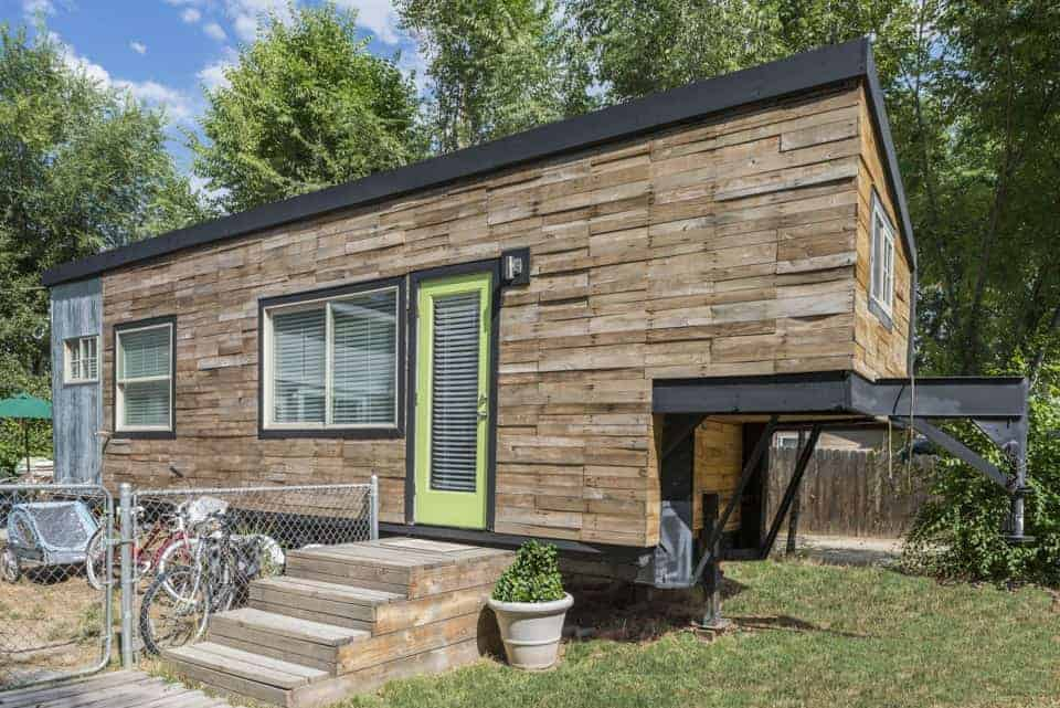 Family trades tiny home for living in a travel trailer full time