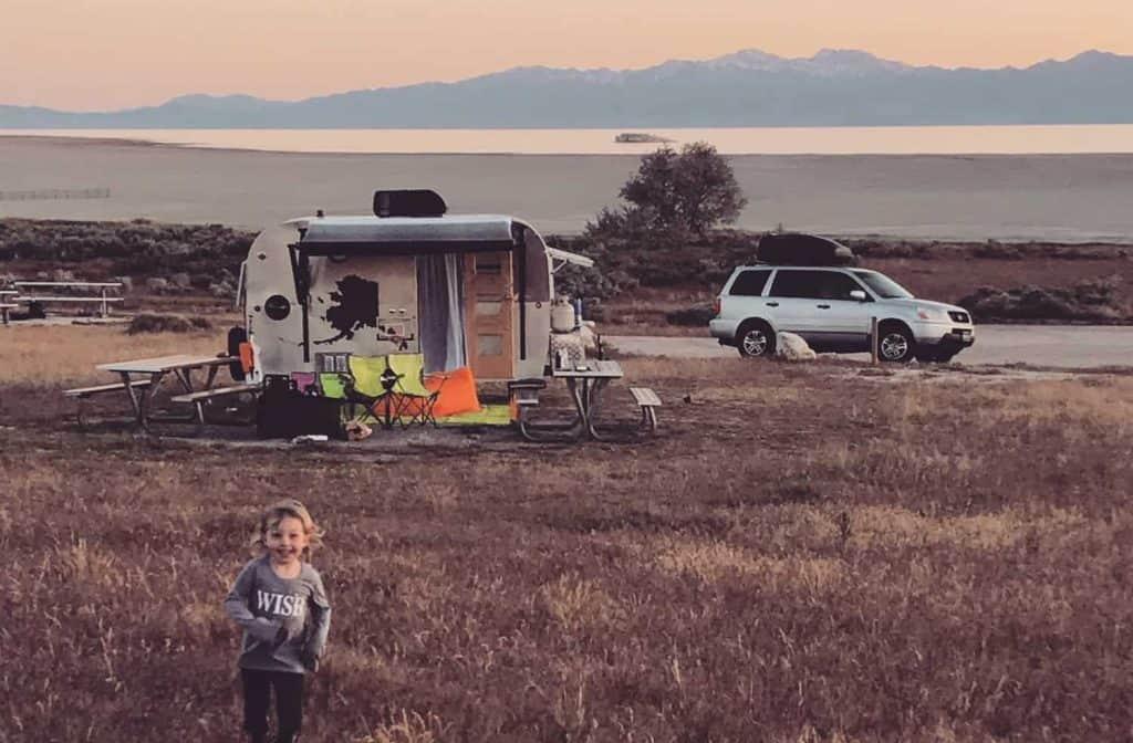 One family of four loves living in a travel trailer full time