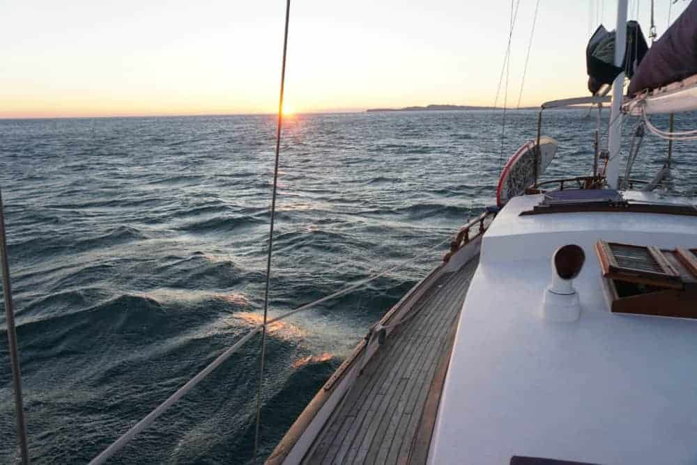 Ocean sailing: Testing out bluewater cruiser