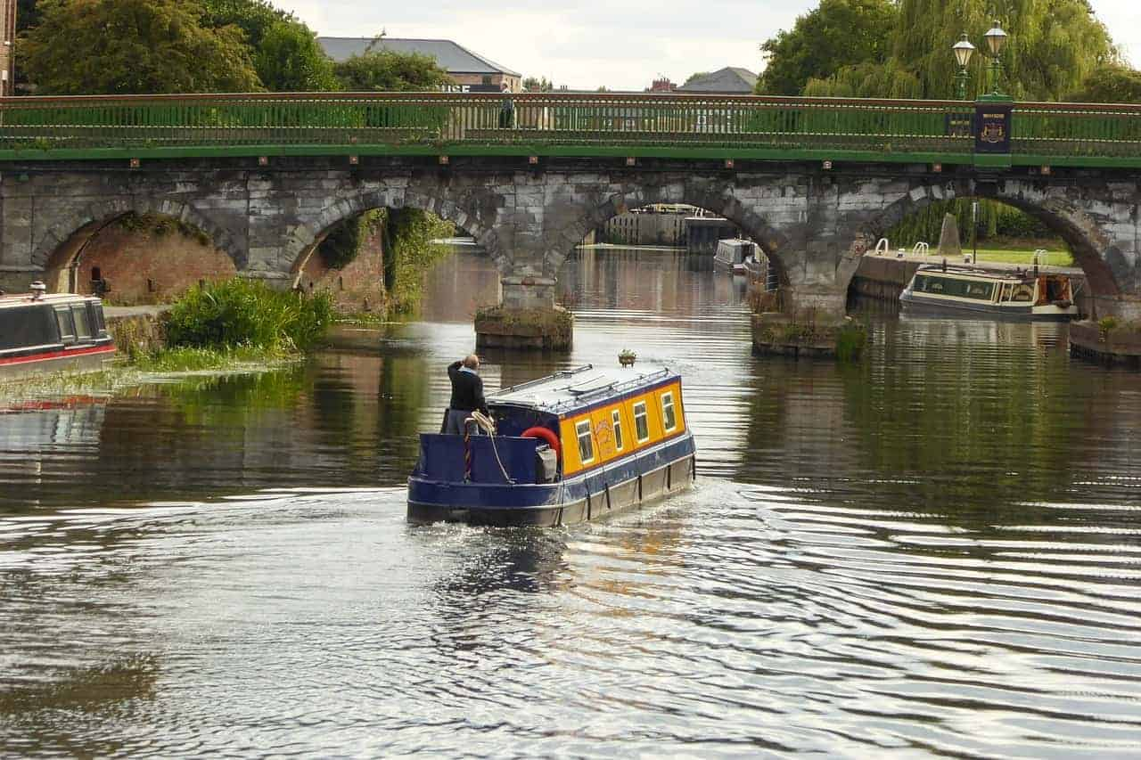 Downsizing to a canal boat