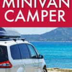 build an affordable minivan camper
