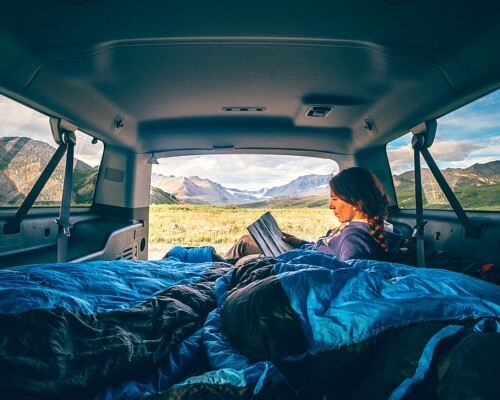 is it illegal to sleep in a car?