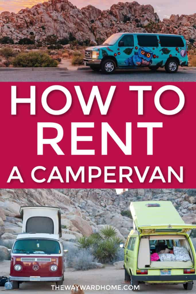 How to rent a campervan for your summer adventutures