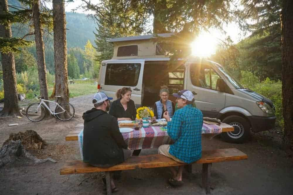 Venture vans are sprinter campervans available for rent out of Jackson, Wyoming