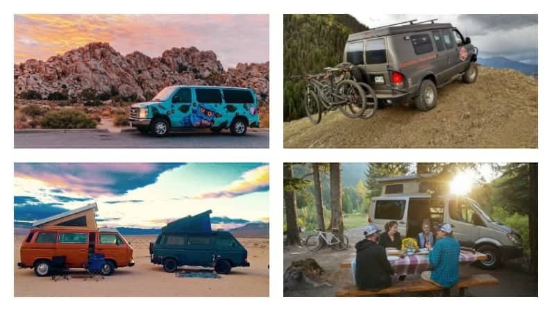 11 campervan rental companies to test drive the van life