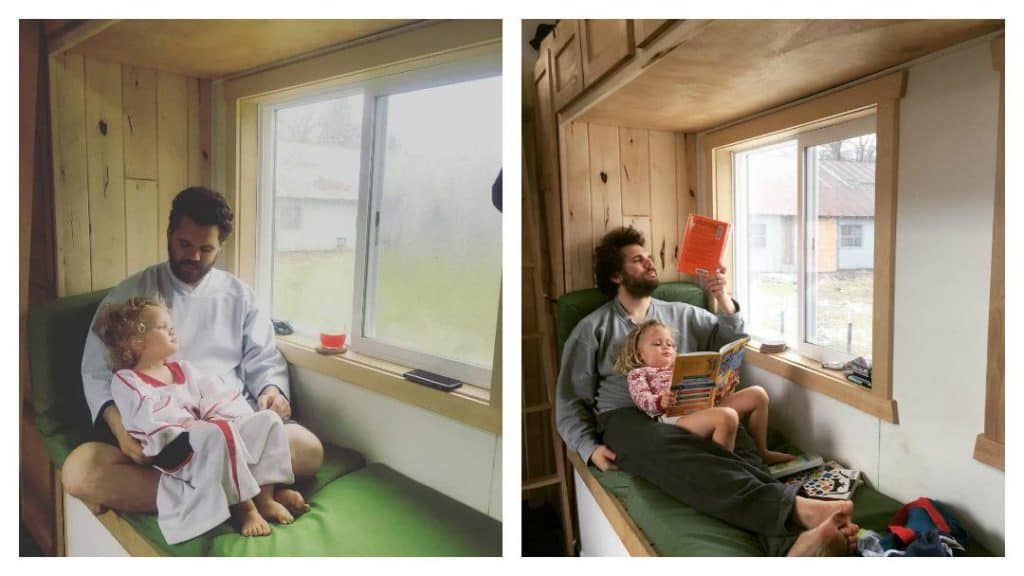Transitioning to a tiny home on wheels has lowered stress for one family