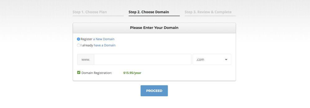 Choose a good domain name when you're starting a blog