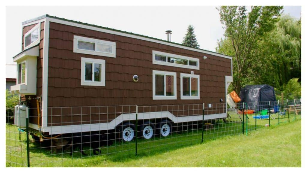 Family says tiny house on wheels brought them closer and reduced stress