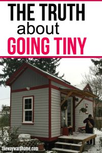 How one family downsized from a huge home to a tiny house