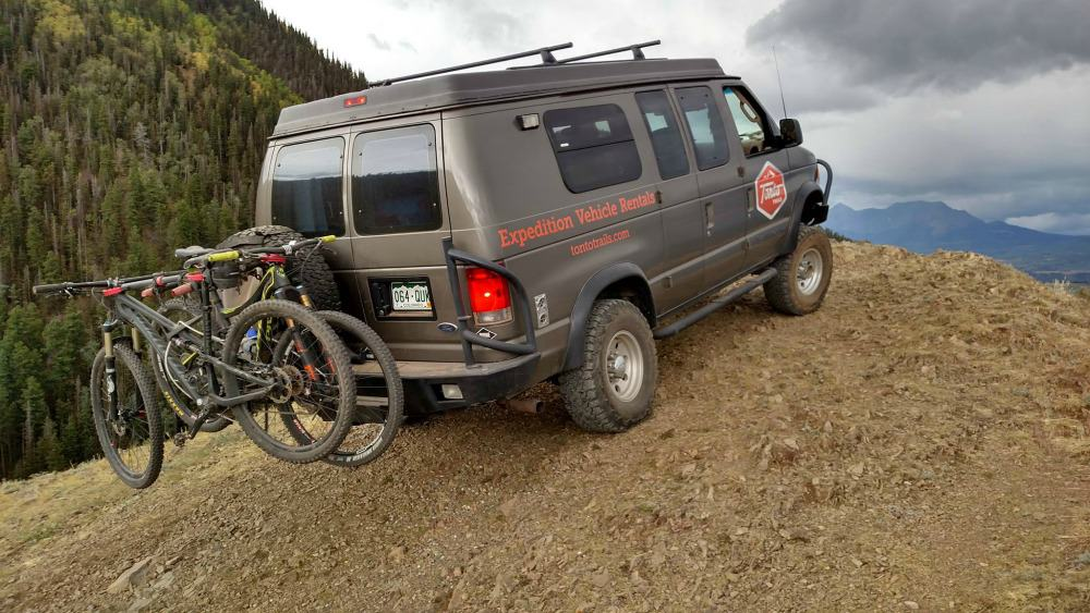 TontoTrails rugged outdoor camping van for off-road adventures