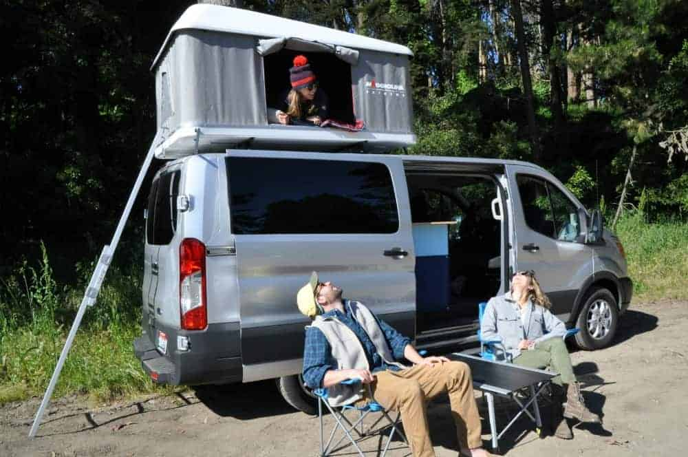 TrekkerVan is a new camping van rental company based in San Francisco