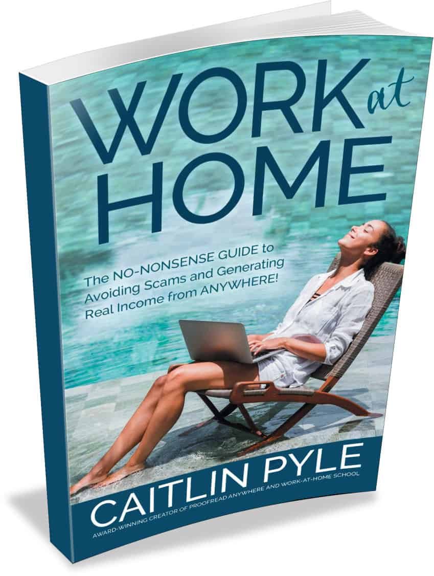 Caitlin Pyle Work at Home FREE ebook