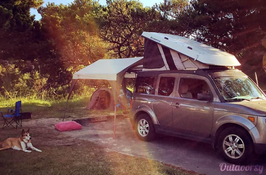 Holda Element e-camper van rental