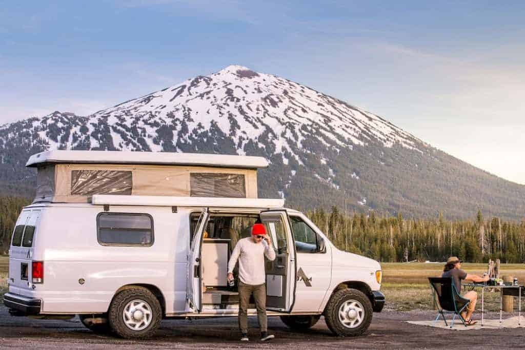 Camping van rentals in Oregon make an awesome getaway