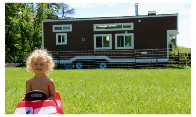 Stressed out couple says tiny house changed their lives