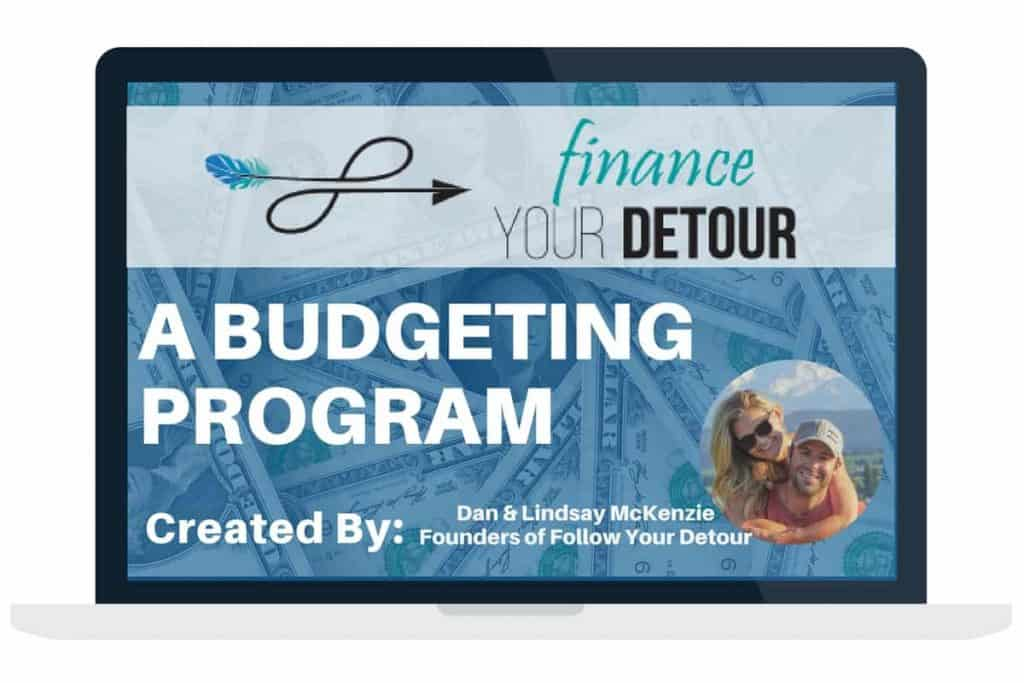 "Lindsay and Dan created ""Finance Your Detour"" a budget planner that helps others live a life of financial freedom"