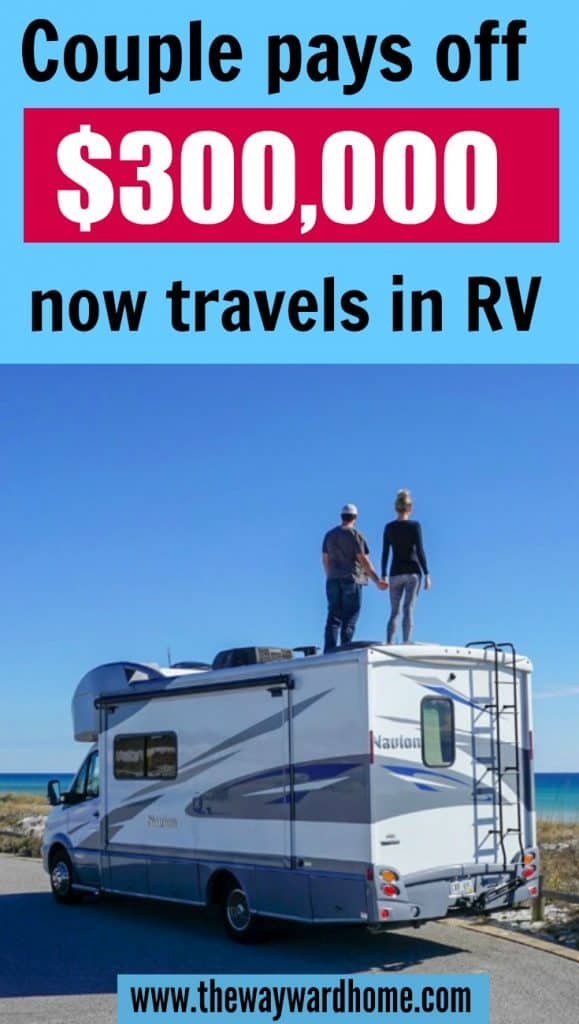 Couple achieves financial freedom and now travels fulltime in an RV