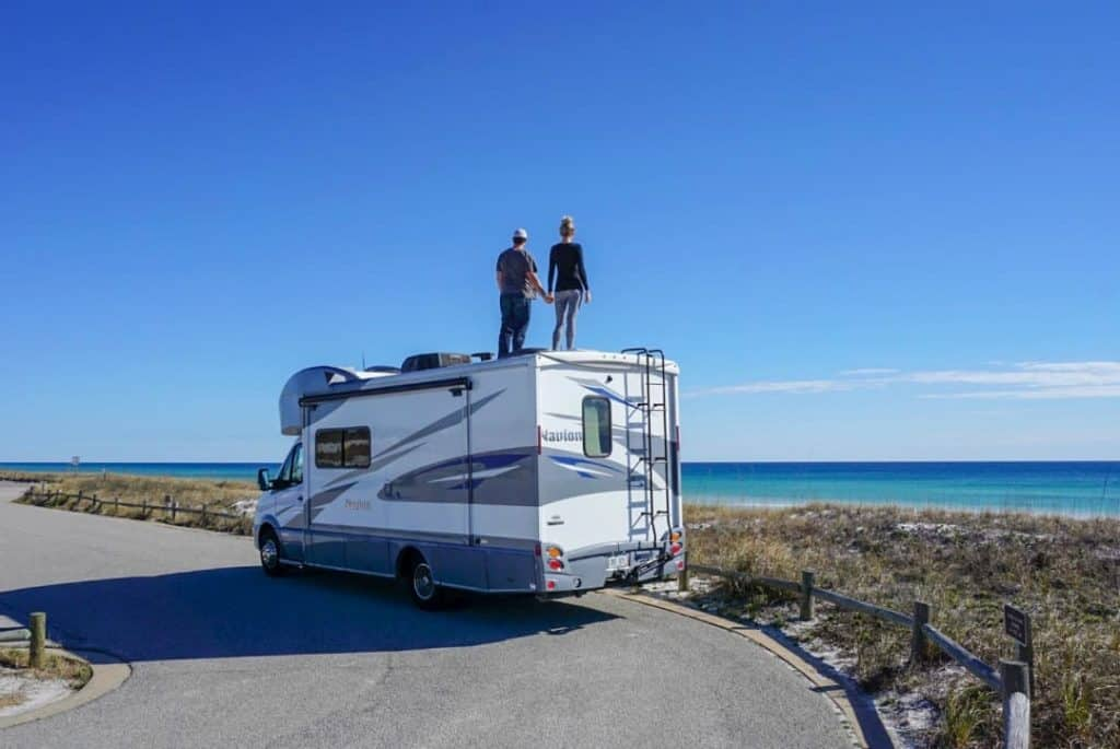 Couple achieves financial independence and now travels fulltime in an RV