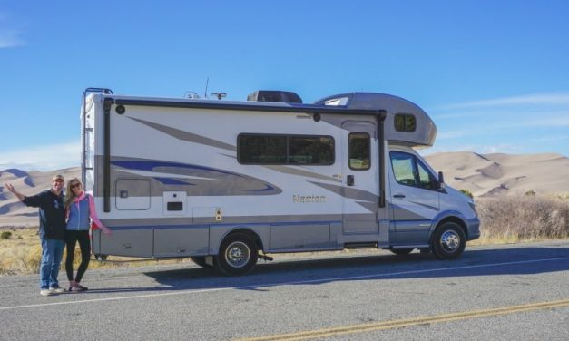 Couple travels fulltime in RV after paying off $300,000 in debt