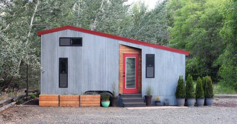 This SHED tiny house cost $30,000 to build