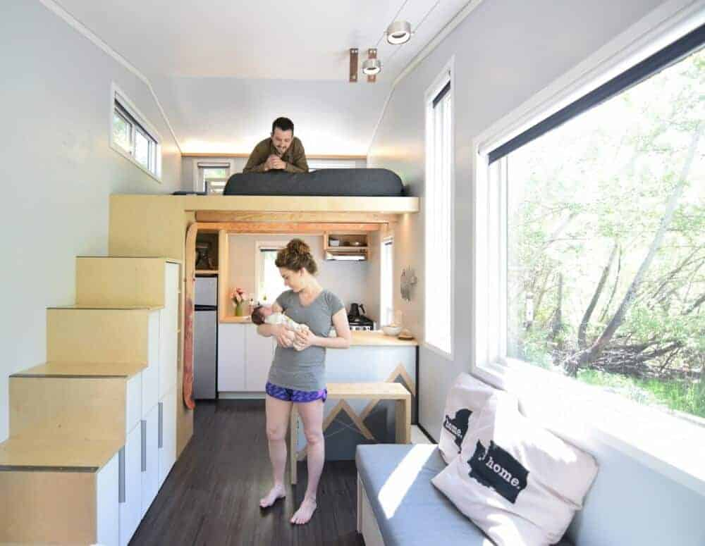 The cost of a tiny house can really vary widely. This couple did it for $30,000