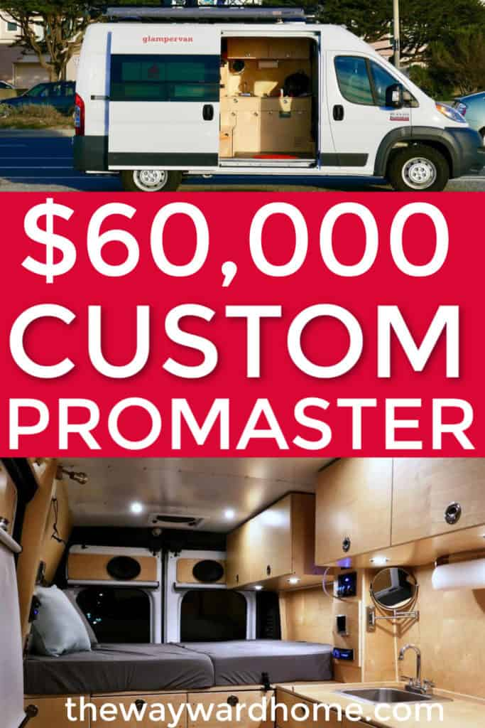 Ram Promaster Camper Vans: Two custom builds for $60,000