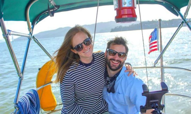 Couple sick of San Francisco rent moves onto liveaboard sailboat