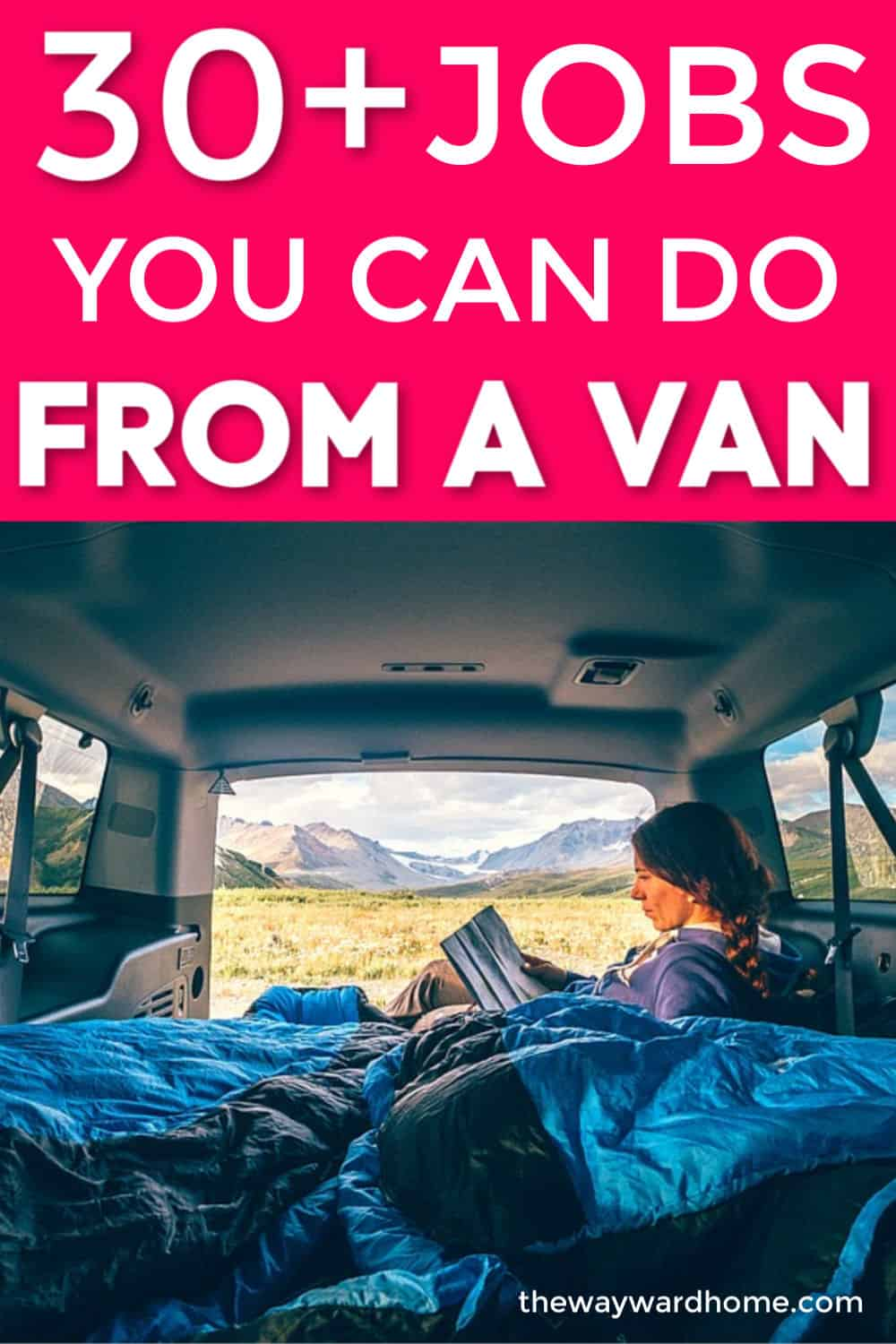 30+ ways to make money from a van