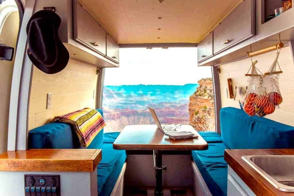 This couple built out their Sprinter conversion for just $6,000