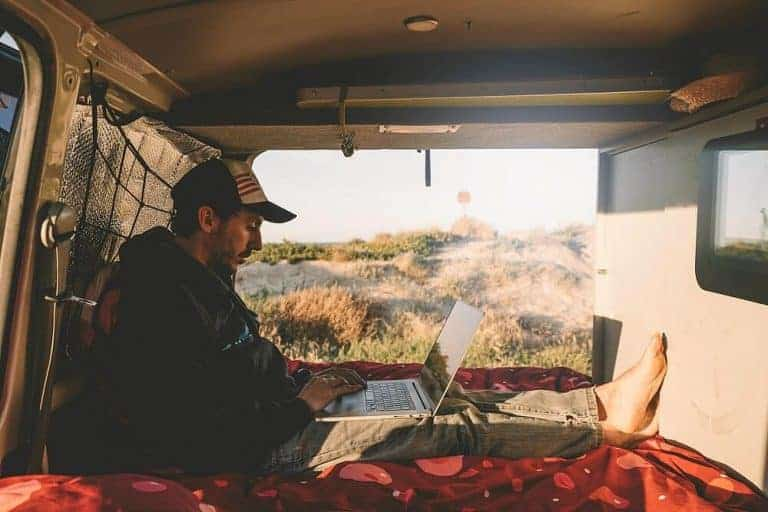 30+ ways to make money from anywhere - van life and RVing