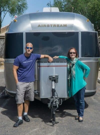 This couple retired in their 30s and now live in an Airstream