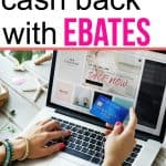 How to get cash back bonuses with Ebates
