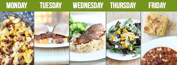 5 dollar meal plan helps put cheap easy meals on your table every night of the week