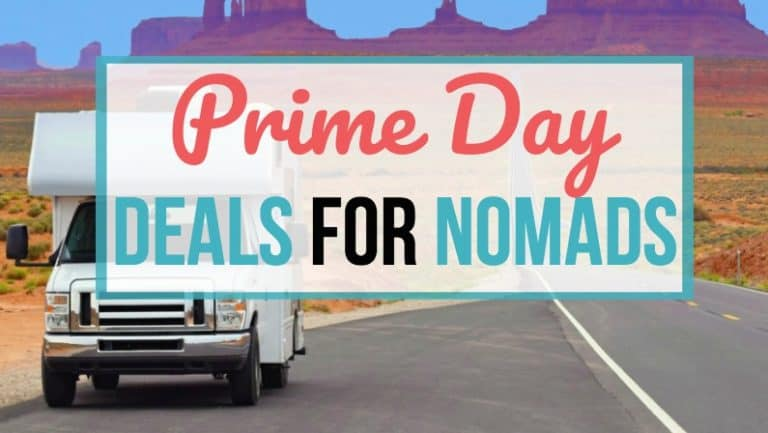 Check out these awesome Amazon prime day deals for van lifers, RVers, sailors and nomads