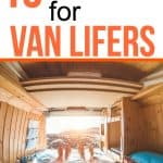 15 gift ideas for van life