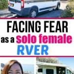 Facing fear as a solo female RVer