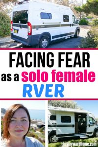 Facing fear as a solo female RVer